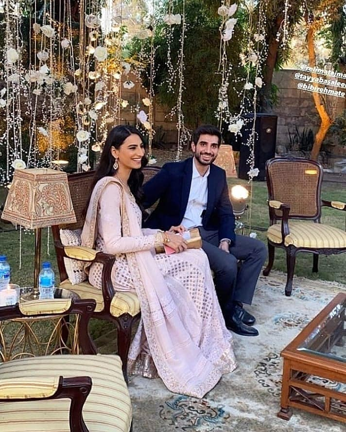 Latest Pictures of Rehmat Ajmal With Her Fiance