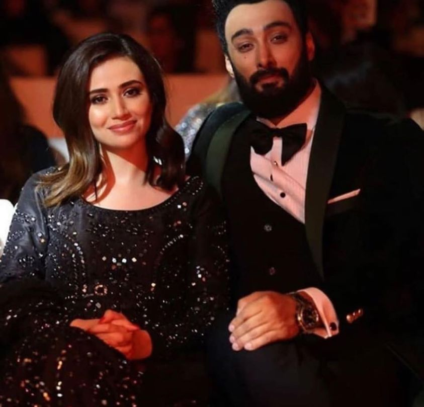 Exclusive Pictures of Sana Javed and Umair Jaswal