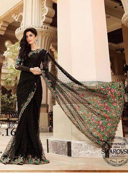 Beautiful Collection of Sarees of Maya Ali