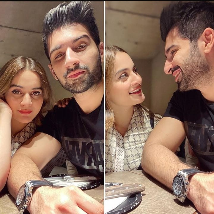 Aiman and Muneeb New Clicks with their Daughter Amal