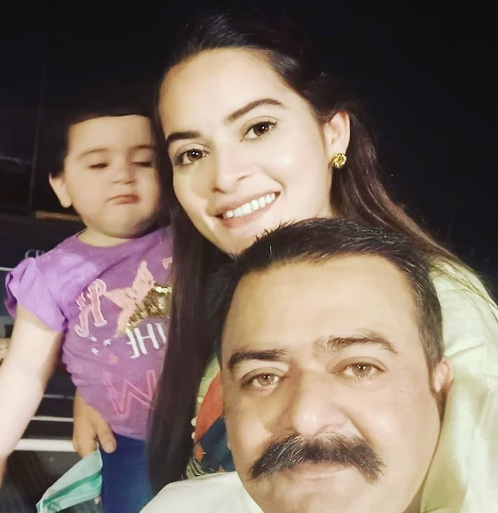 Aiman and Minal Latest Pictures with Family Celebrating Birthday of their Twin Brothers
