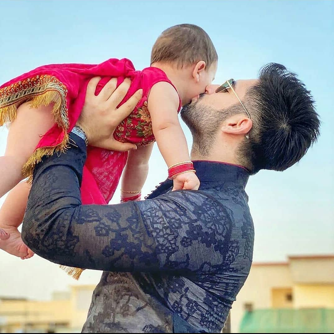 Aiman Khan and Muneeb Butt Daughter Amal Muneeb Latest Pictures