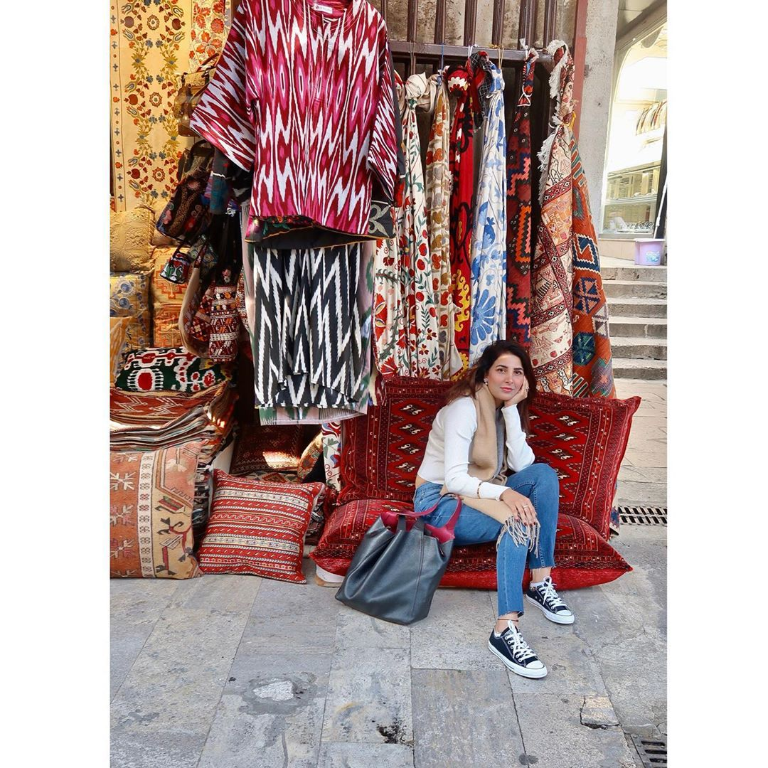 Actress Areeba Habib Beautiful Pictures from Her Trip to Turkey