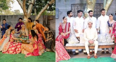 BeFunky collageHussain Rehars Solo Show Is Bringing All The Colors Of Shaadi Season