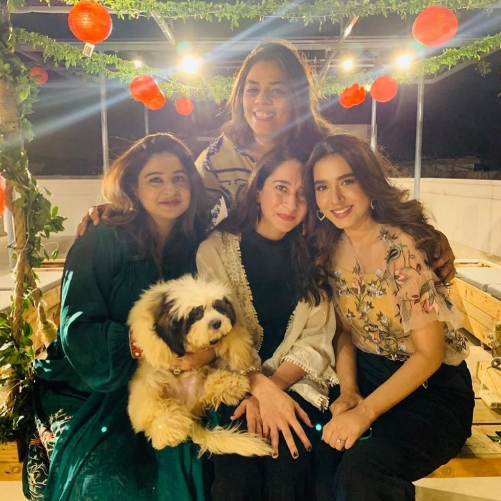 Birthday Party Of Mansha Pasha With Friends