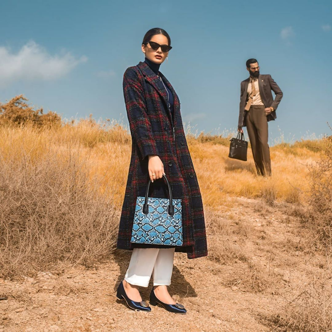 Minal Khan and Hasnain Lehri Latest Shoot for Borjan Shoes