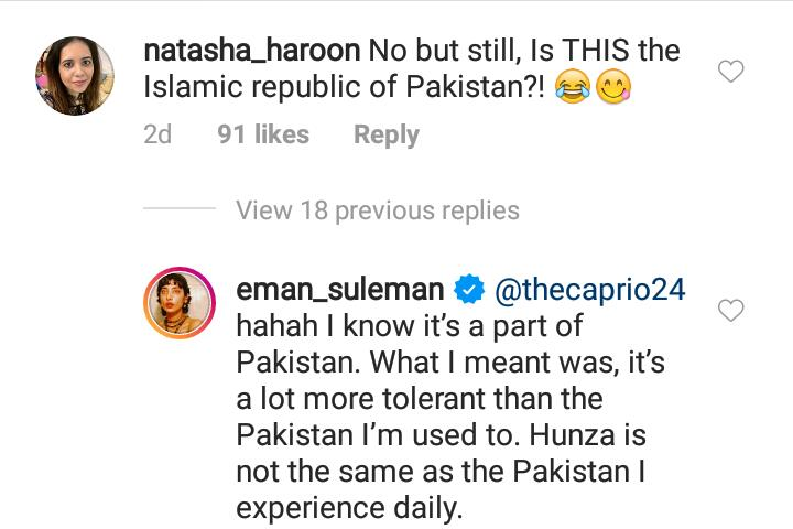 Eman Suleman Called Out For Posting Bold Pictures