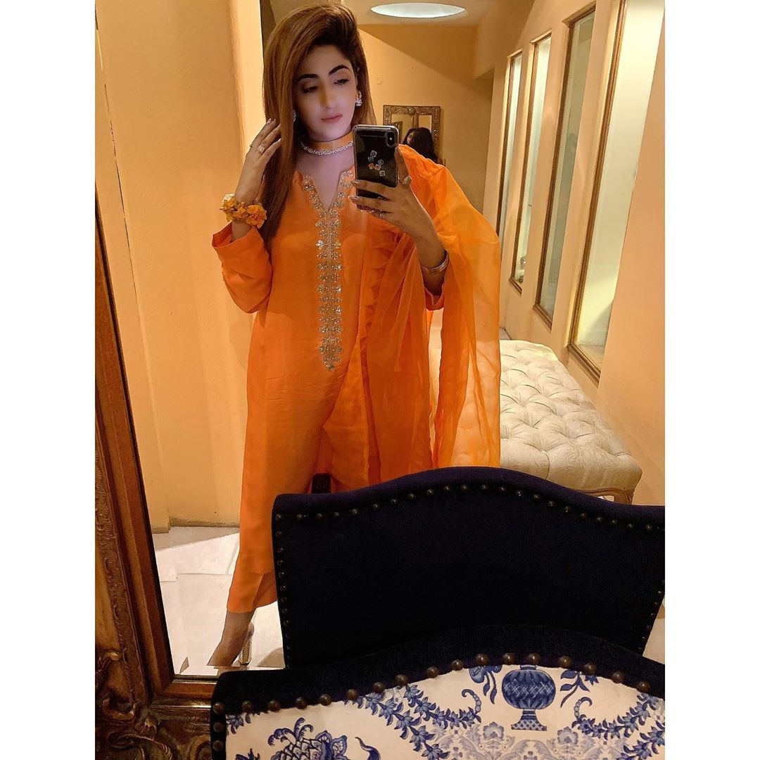 Actress Fatima Sohail is Looking Gorgeous at Friends Wedding