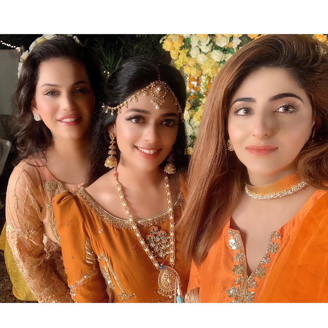 Actress Fatima Sohail at the Wedding of her Friend