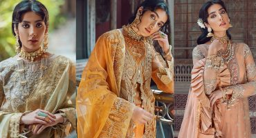 Gorgeous Eman Suleman Featured In Kinaar Festive Collection 27