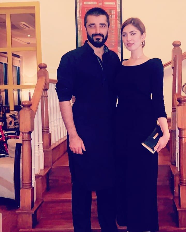 Actress Naimal Khawar Abbasi Latest Clicks with her Son