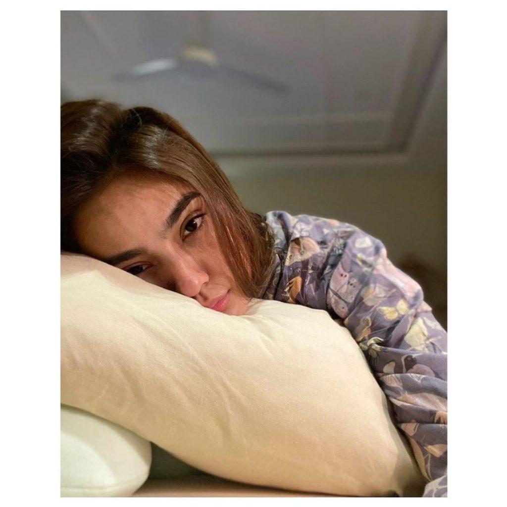 Here Is How Alyzeh Gabol Is Battling With Coronavirus
