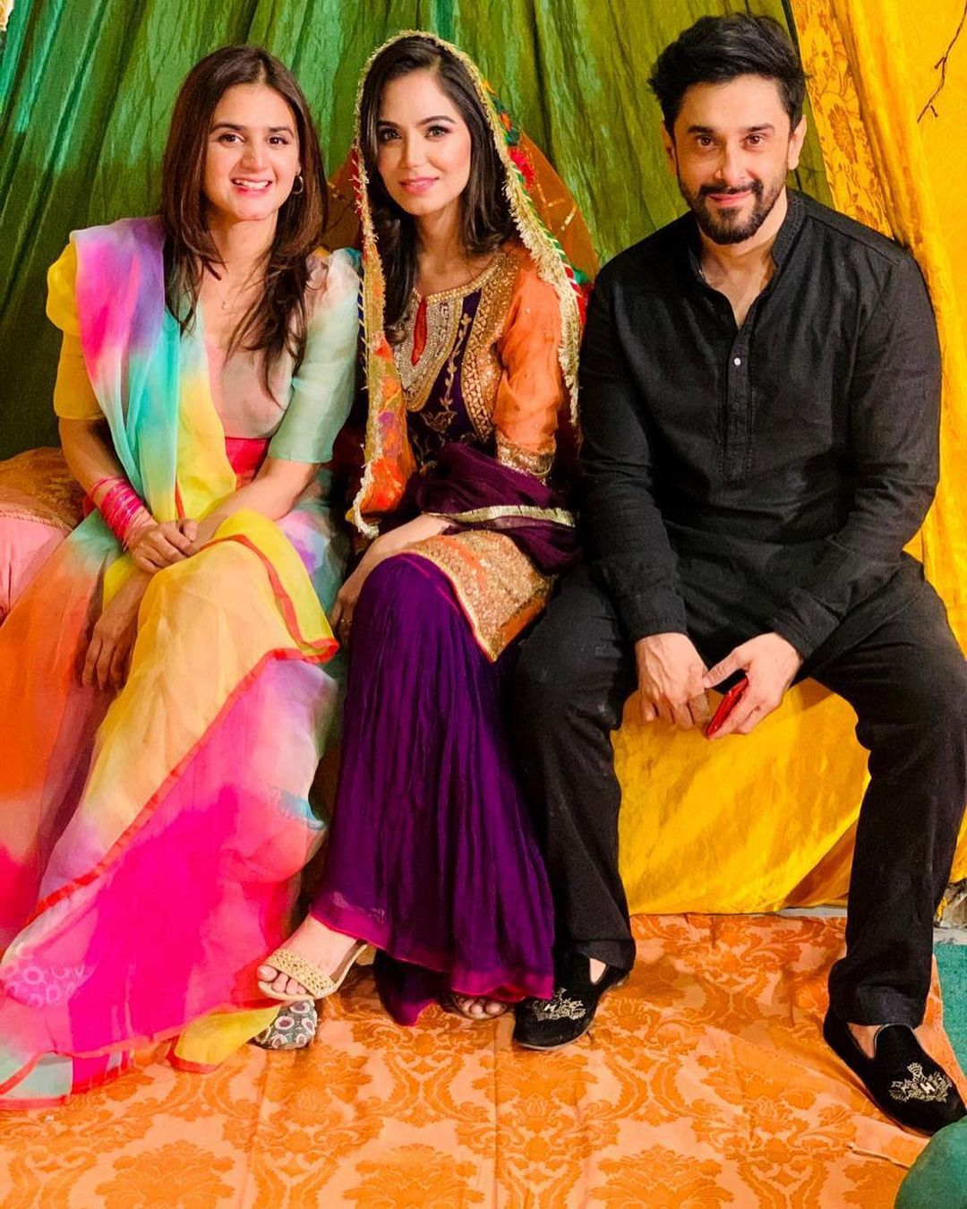 Hira and Mani Spotted at the Dholki of their Friend