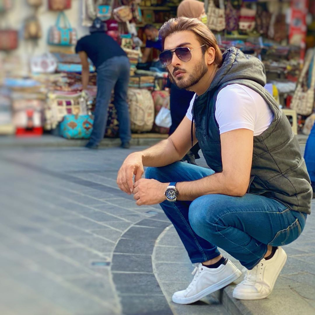 Imran Abbas is Enjoying his Vacations in Turkey