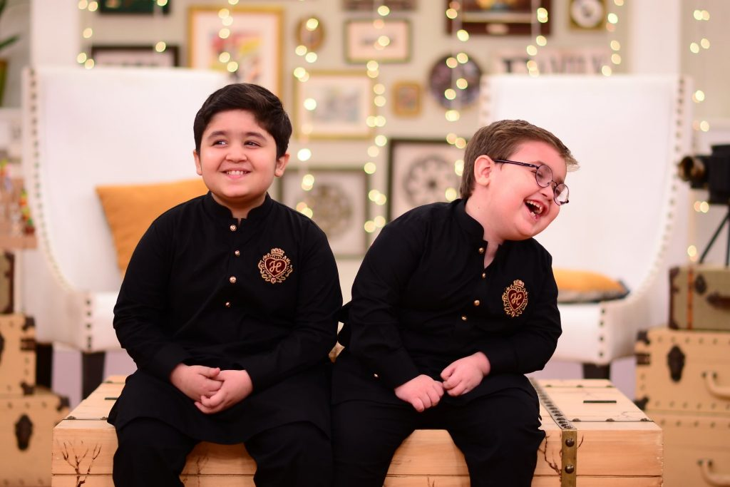 Internet Sensation Arshad Khan And Ahmed Shah On Good Morning Pakistan 1
