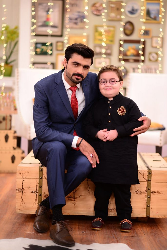 Internet Sensation Arshad Khan And Ahmed Shah On Good Morning Pakistan 61