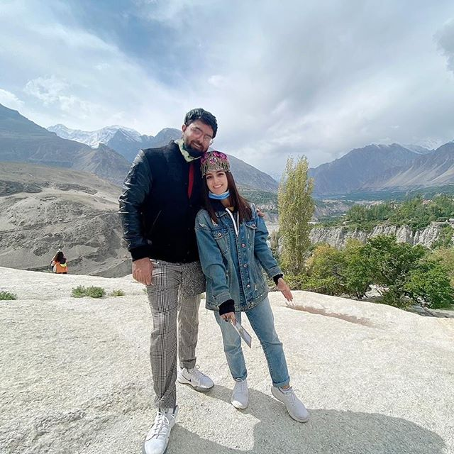 Amazing Pictures of Iqra Aziz and Yasir Hussain from Hunza Trip
