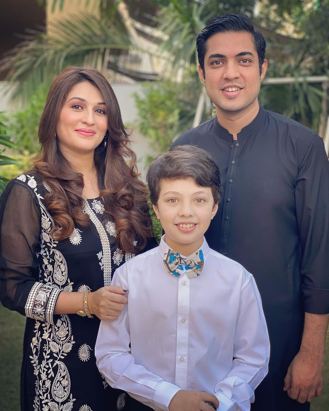Iqrar ul Hassan with his Family - Latest Pictures