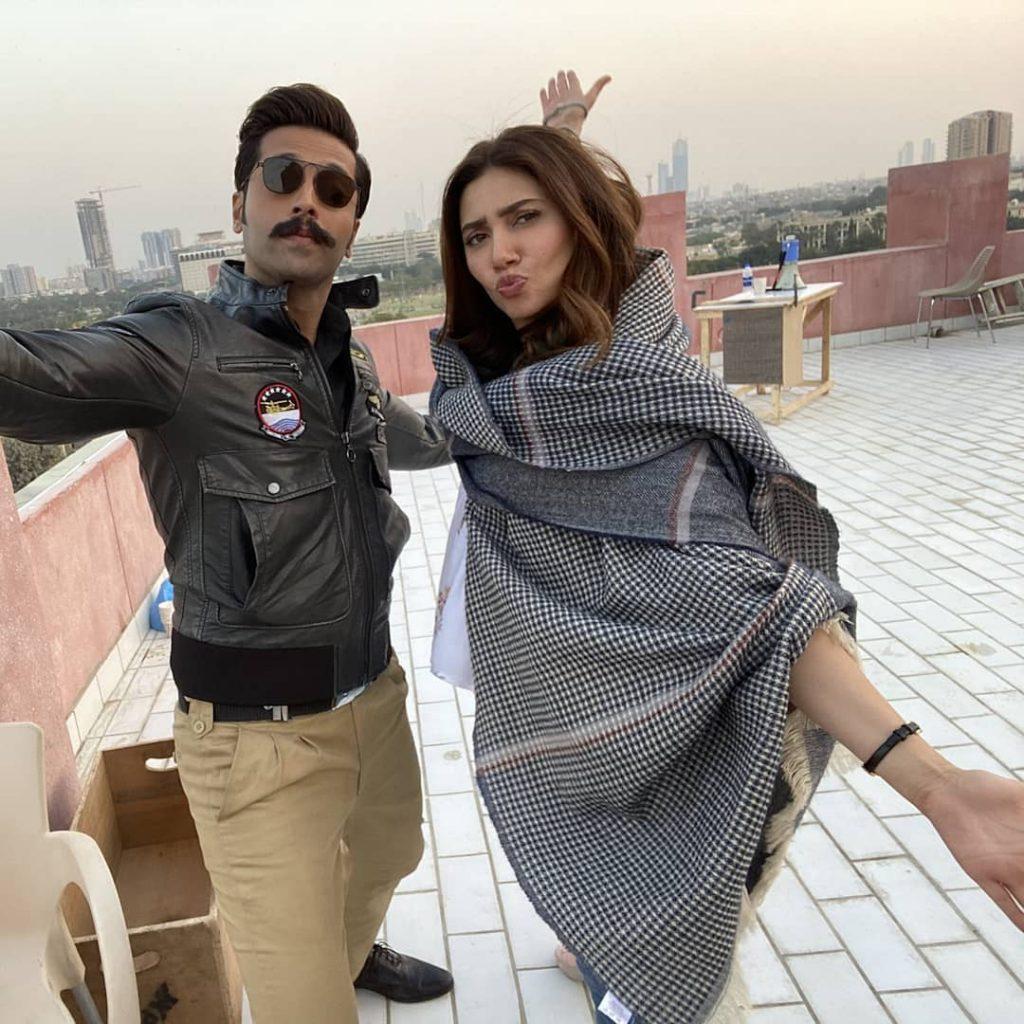 Is Fahad Mustafa's New Look Inspired From Bollywood
