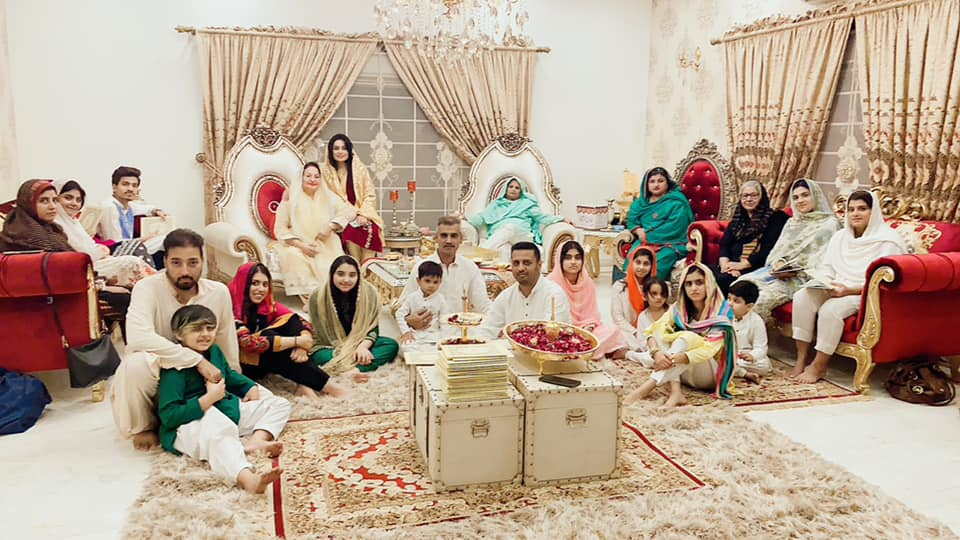 Beautiful Mehfil e Milaad Pictures from Javeria and Saud Home