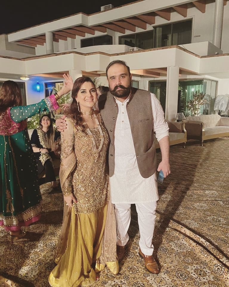 Kashmala Tariq Tied The Knot With Waqas Khan 9
