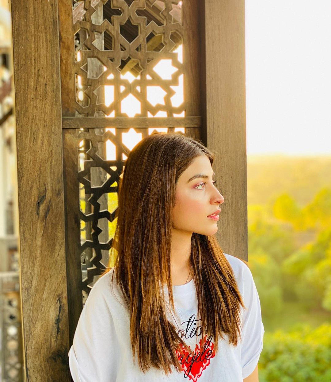 Actress Kinza Hashmi Beautiful Clips from her Trip to Turkey