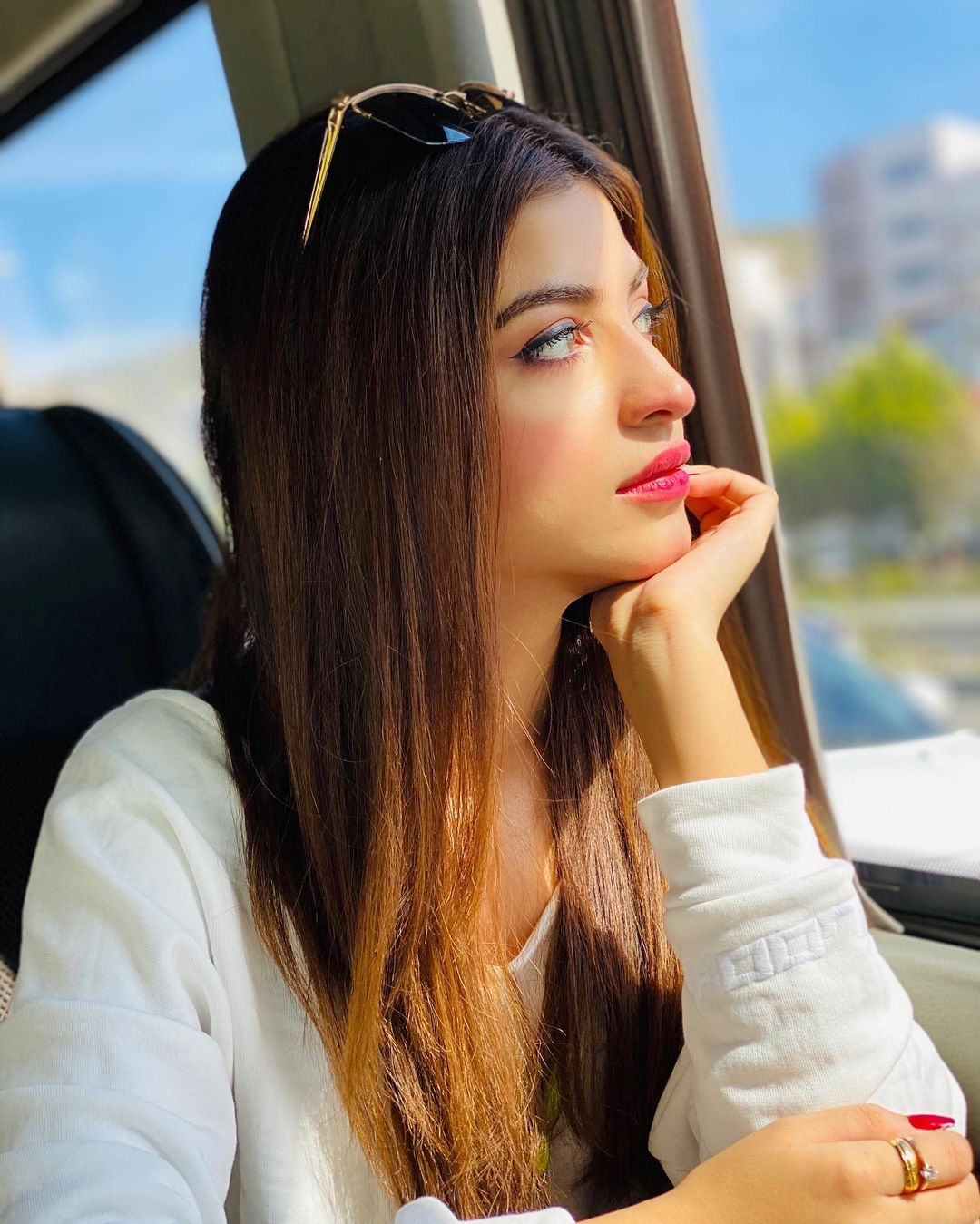 Kinza Hashmi is looking Gorgeous in Her Turkey Trip Pictures