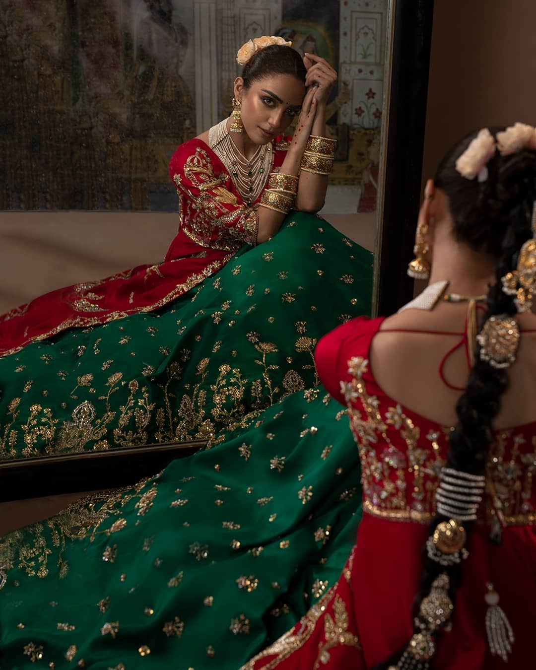 Maya Ali is Looking Gorgeous in Bridal Shoot for Ali Xeeshan