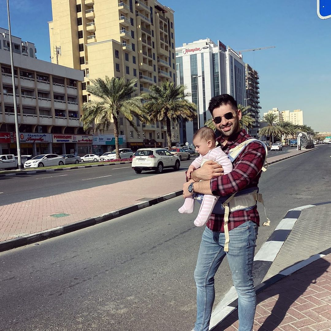 Muneeb Butt Shared Beautiful Clicks with her Cute Daughter Amal