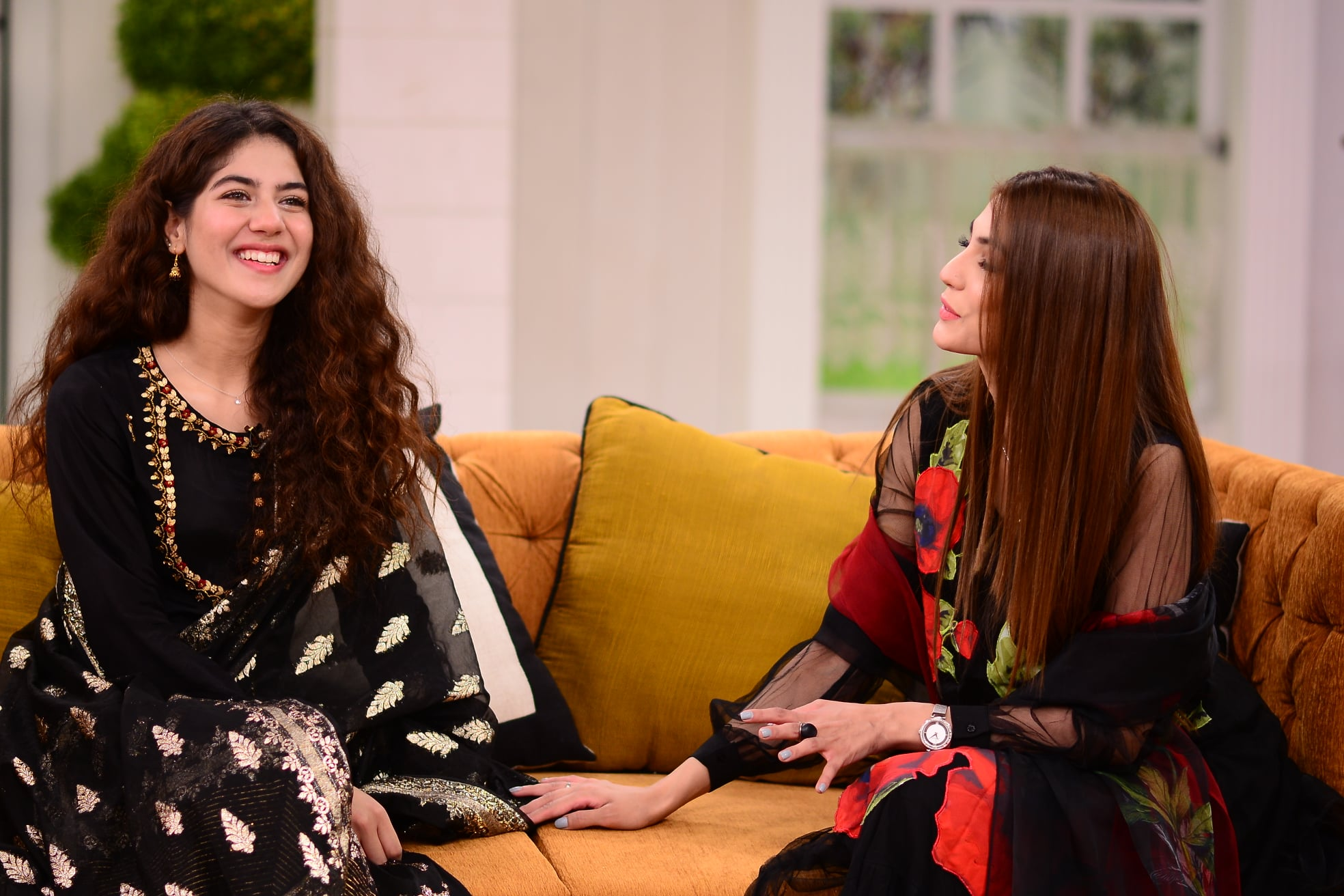 New Talented Actresses Nazish Jahangir and Areej Mohyuddin in GMP