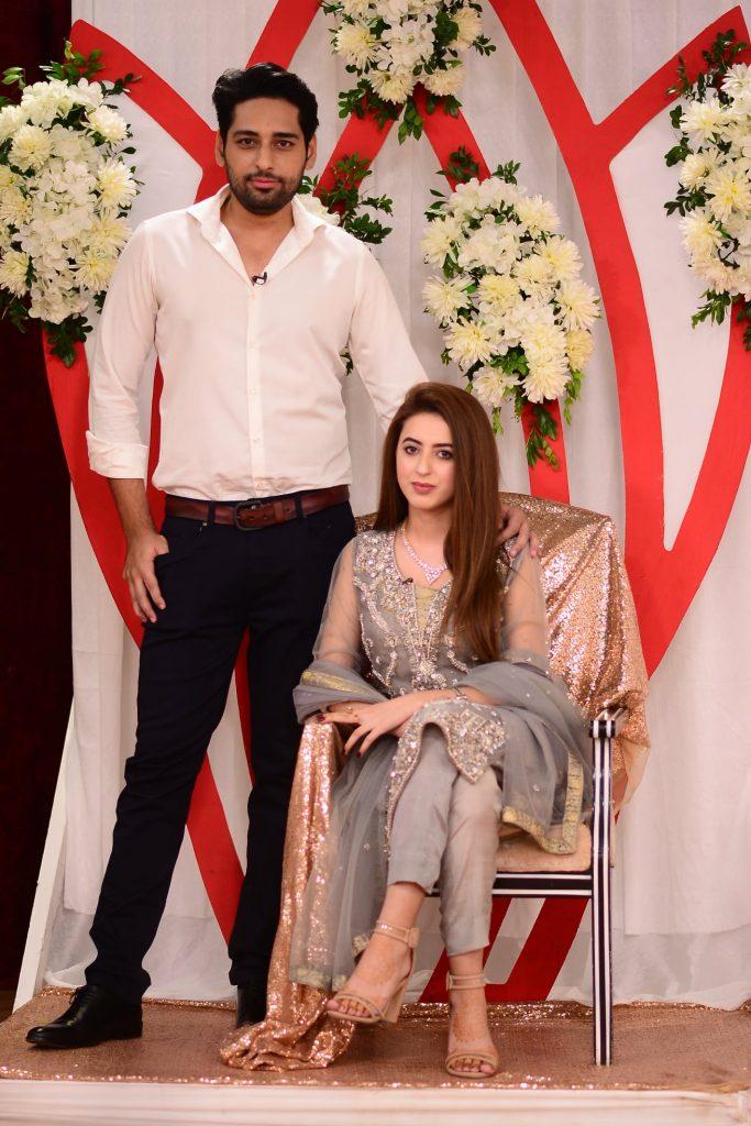Newly Married Salman Saeed And Aleena Fatima In Good Morning Pakistan