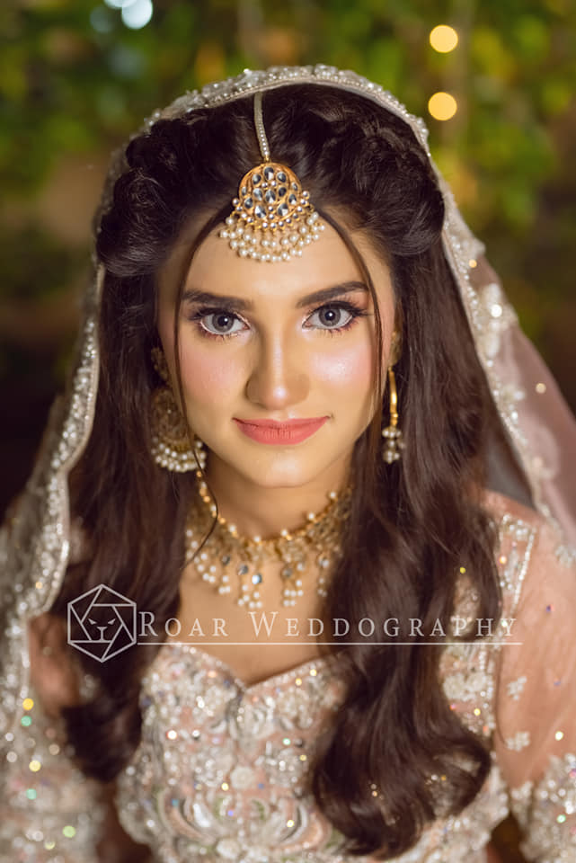 Viral Girl Nimra Ali is Looking Stunning in her Bridal Shoot