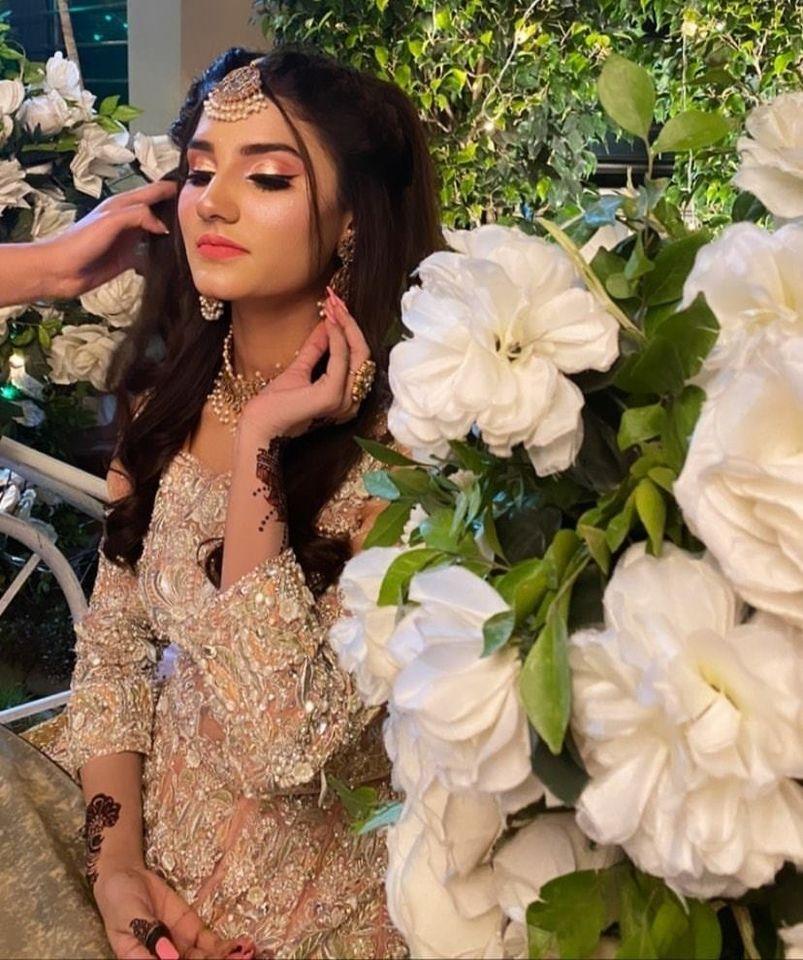 Social Media Viral Girl Nimra Ali on Set of her Bridal Photoshoot