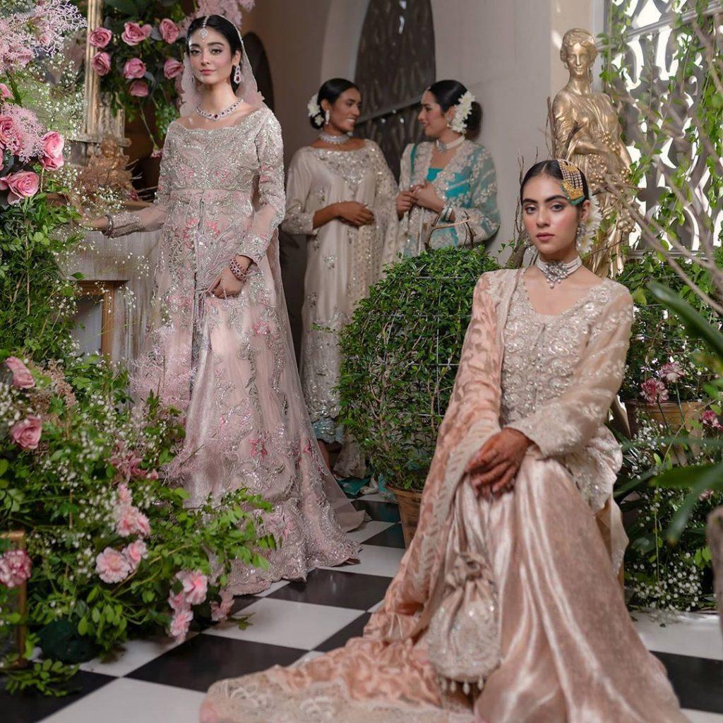 Noor Khan In Modern Royal Dresses By Ammara Khan
