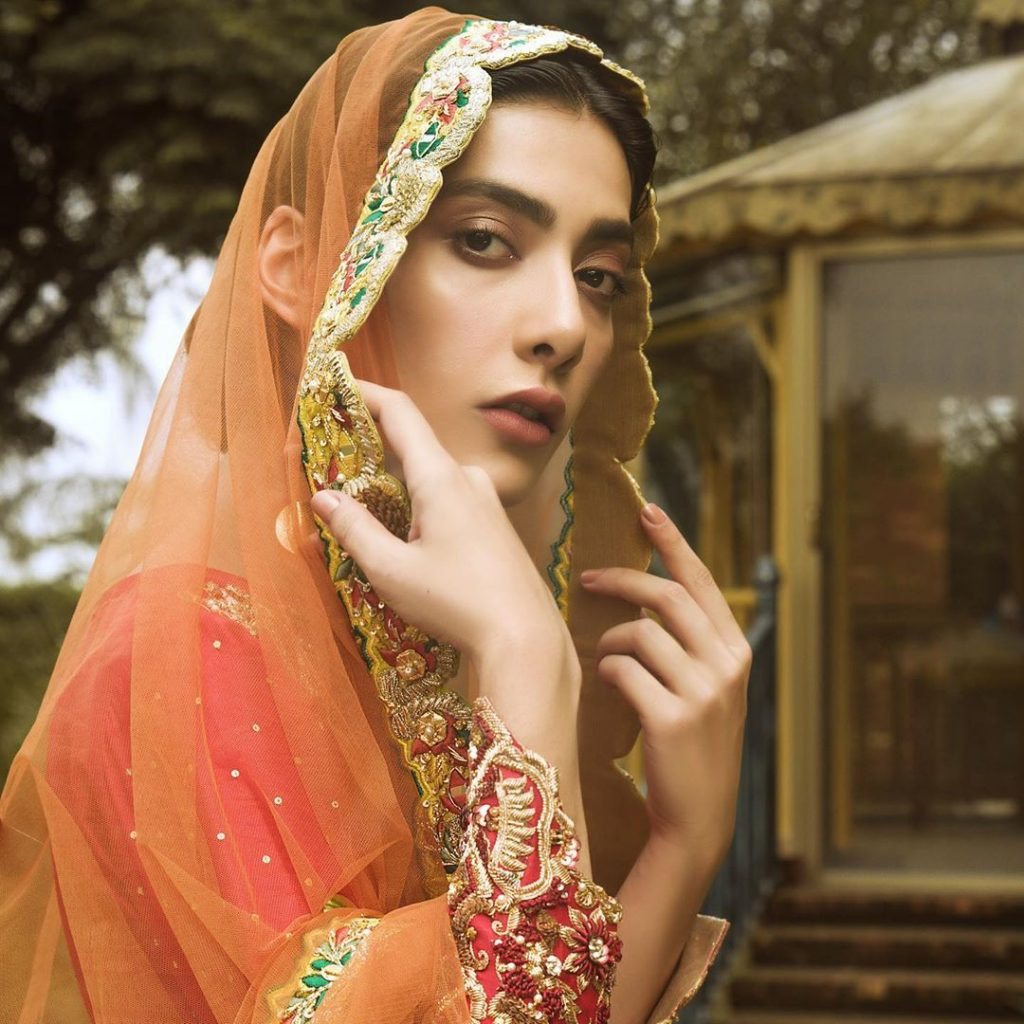 Pictures Of Eman Suleman In Classy Bridal Dress