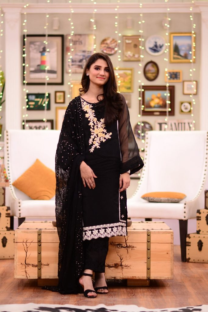 Pictures Of Nimra Ali From Good Morning Pakistan