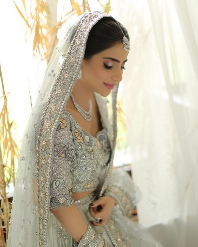 Saboor Aly Dolled Up For Bridal Shoot
