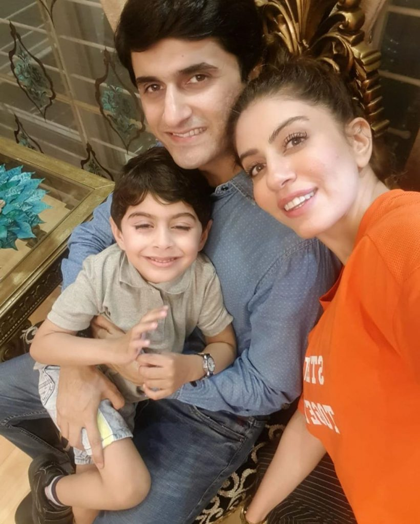 Sadia Faisal Shared Adorable Pictures On Son's Birthday