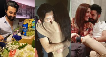 Sadia Ghaffar Glows With Joy After Meeting Husband 23