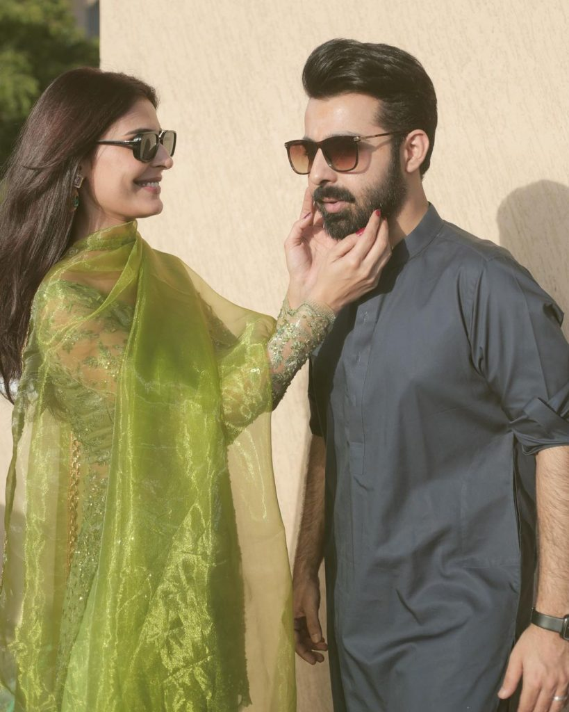 Sadia Ghaffar Glows With Joy After Meeting Husband