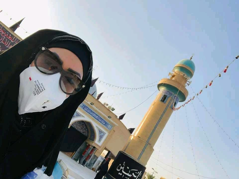 Latest Pictures of Sadia Imam From Karbala