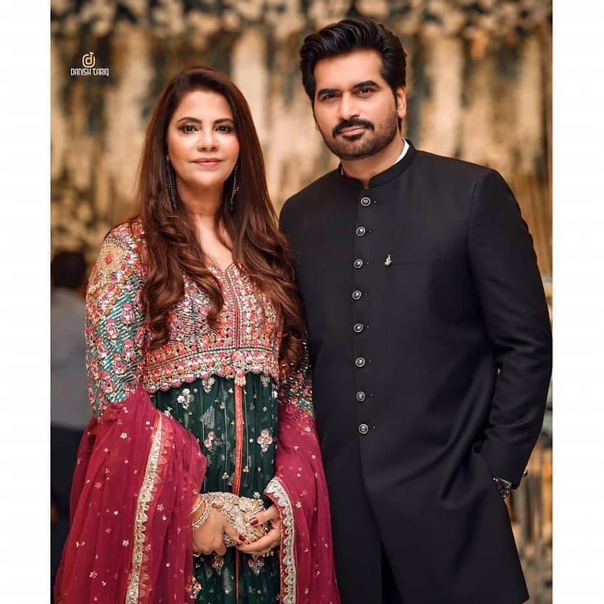 Salman Saeed and Aleena Fatima at Humayun Saeed House - Adorable Pictures