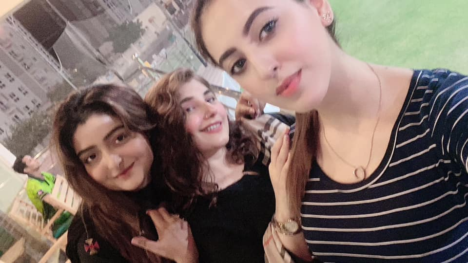 Actor Salman Saeed with his Wife Aleena at Javeria Saud Home - Latest Pictures