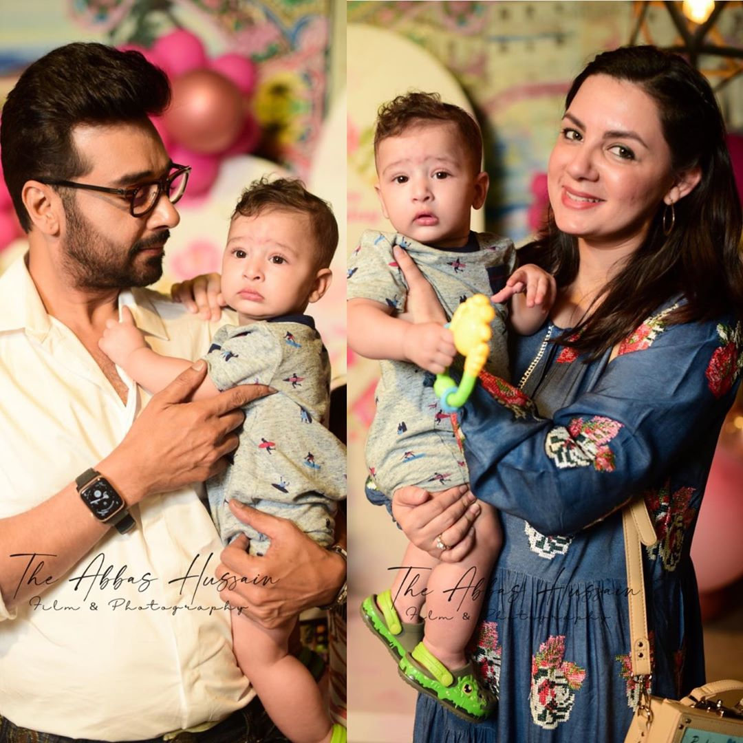 Faisal Qureshi Wife | Beautiful Family Pictures