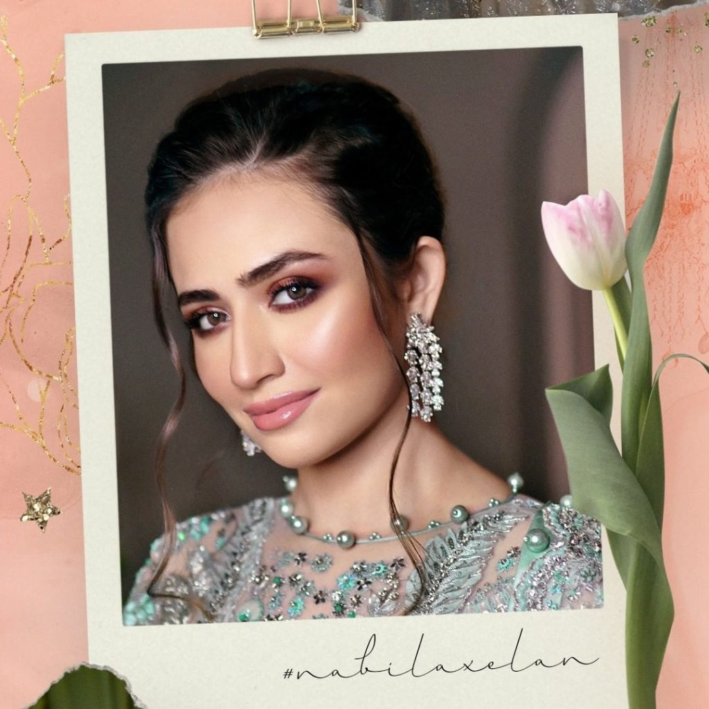 Sana Javed As Show Stopper For Elan Fashion Show 3