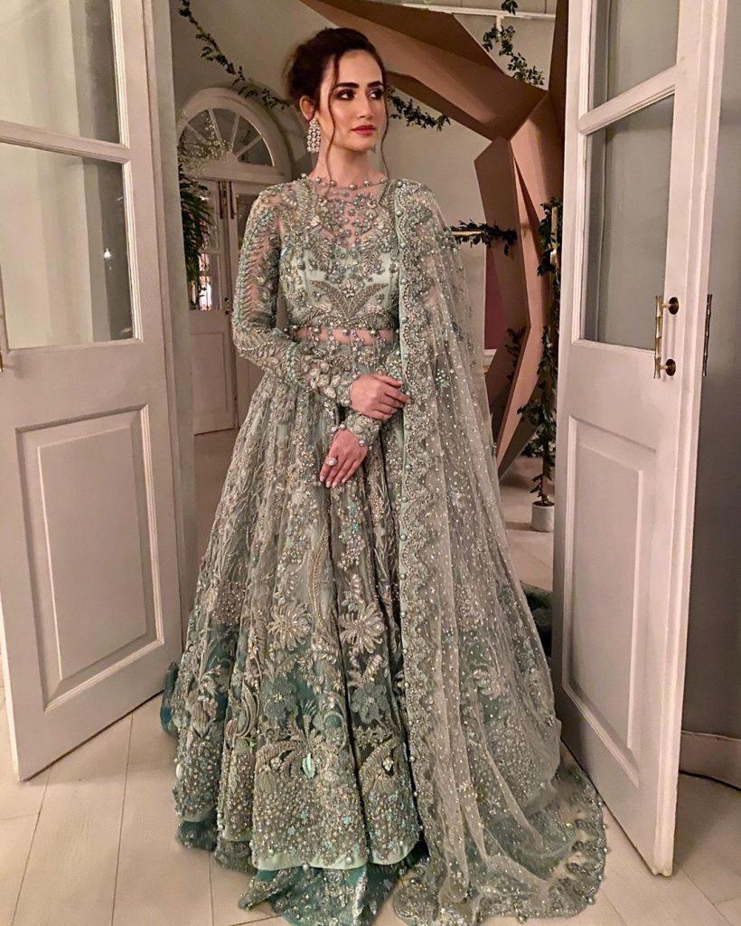 Ramp walk by Sana Javed