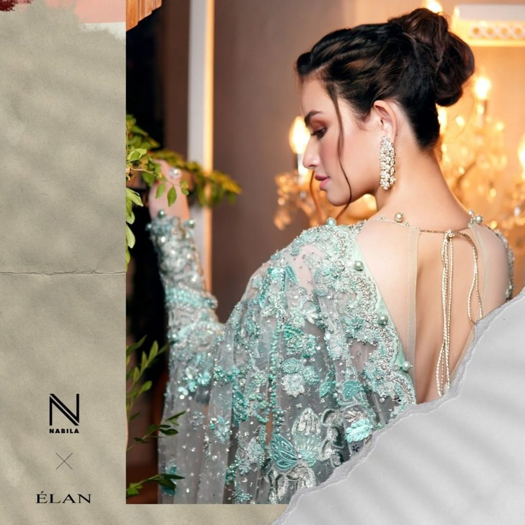 Sana Javed As Show Stopper For Elan Fashion Show 5