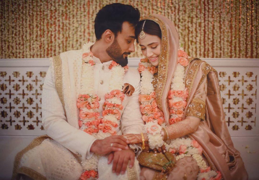 Sana Javed Wedding Pics - Romantic