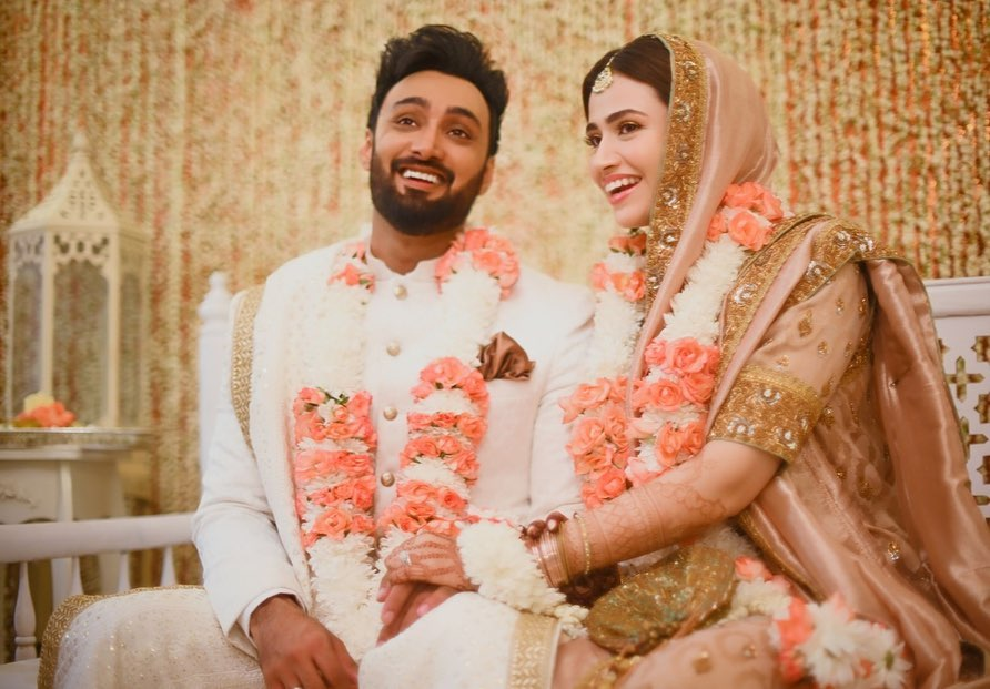 Sana Javed Shows Off Her Beautiful Wedding Ring