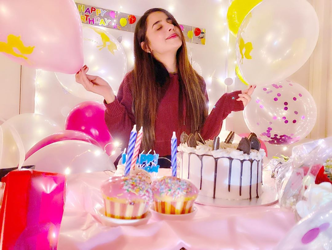 Saniya Shamshad Celebrated Her Birthday with Husband